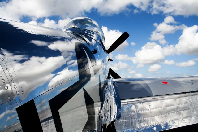 """North American P-51 Mustang — - Check out our aviation videos with 100% authentic and non-leveled sound! <a rel=""""nofollow"""" href=""""http://youtube.com/ilikerio"""">https://youtube.com/ilikerio</a><br /><br />When """"FIFI"""" B-29 came to FXE in 2012... Along with this P-51, """"The Brat III"""" very beautiful shining Mustang! The South Florida cloudy sky really makes this a wonderful shot."""
