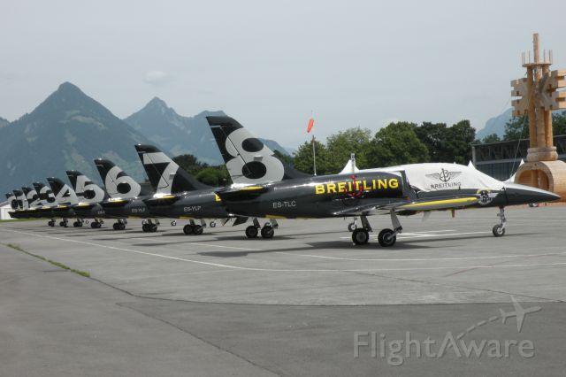 — — - Breitling aerobatic civil L 39-C Albatros
