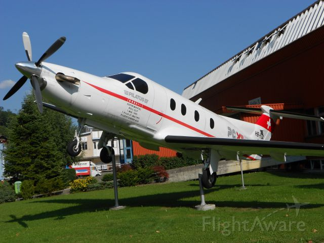 — — - Pilatus PC-12 Nr. 1 (Number one)