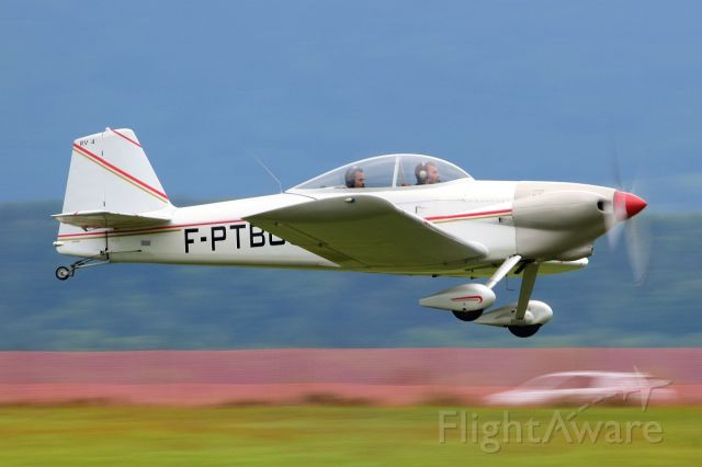 F-PTBG — - French visitor at AirThun airshow and Bückertreffen
