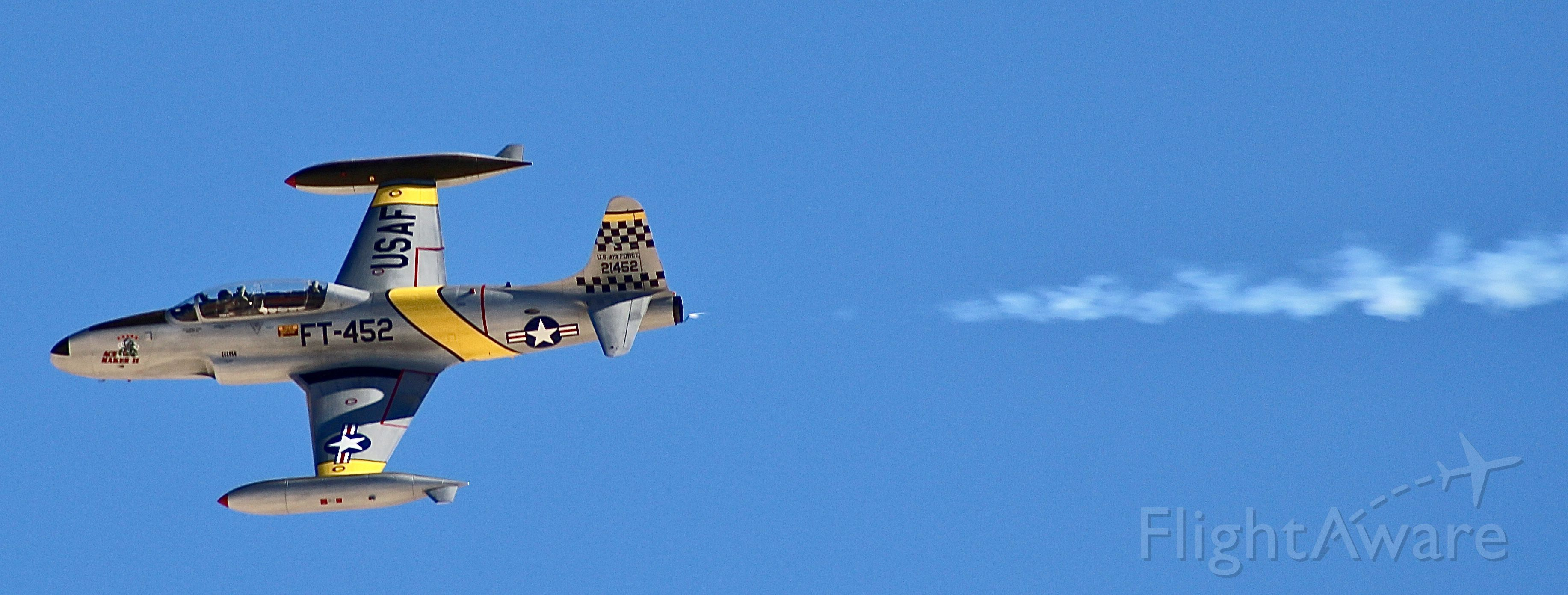 Lockheed T-33 Shooting Star (N21452)