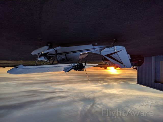 N312AC — - SeaRey and a Washington State sunset. Photo by Jeffrey Fritts