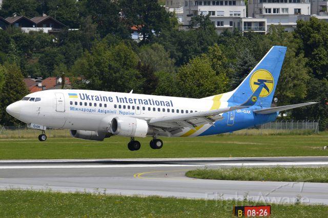 Boeing 737-500 (UR-GAK)