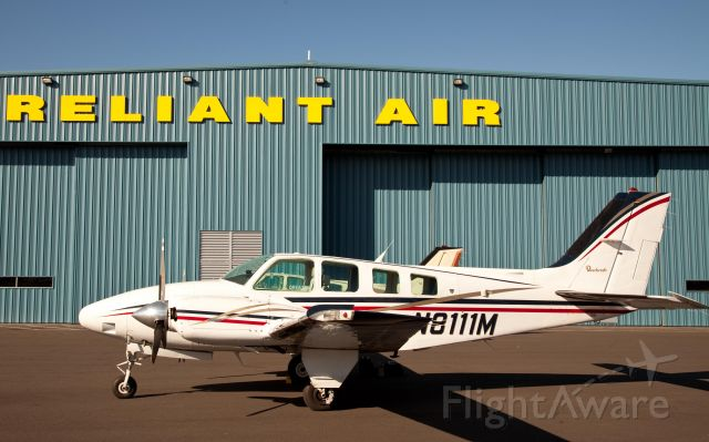 N8111M — - One of RELIANT AIRs Barons. RELIANT AIR has the lowest fuel price on the Danbury (KDXR) airport.
