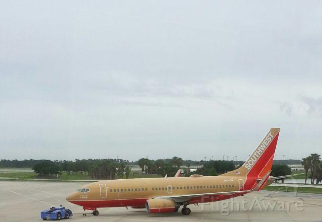 Boeing 737-700 (N711HK) - South West B737-700 @ KMCO