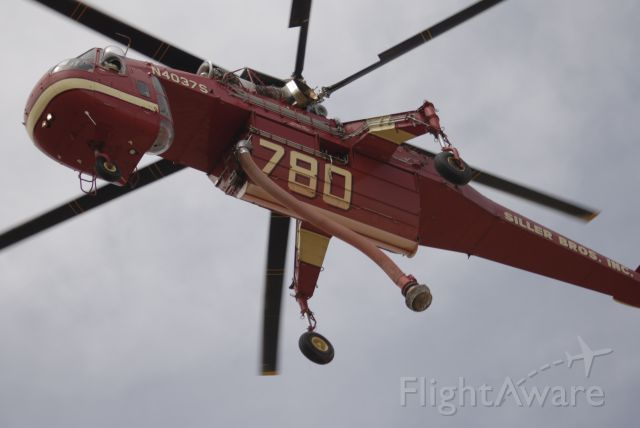 Sikorsky CH-54 Tarhe (N4037S) - Sonoita AZ 06/01/2011 Range Fire