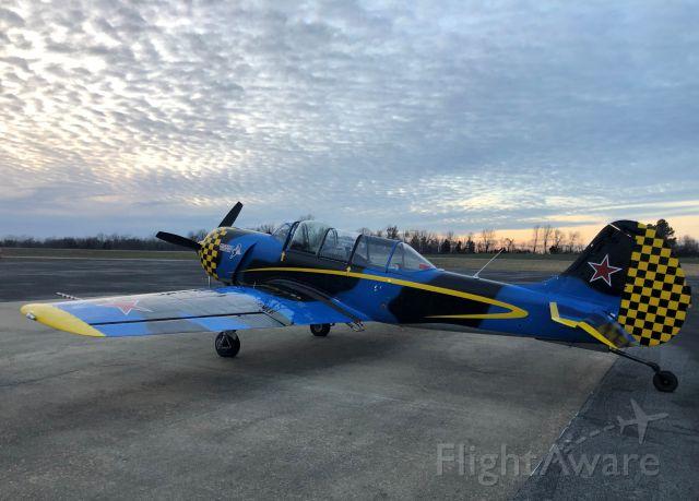 YAKOVLEV Yak-52 (N452TW) - YAK-52TW at 5M9