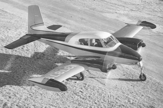 Cessna 310 (N37879) - Factory demonstrator from 1956. Continental O-470