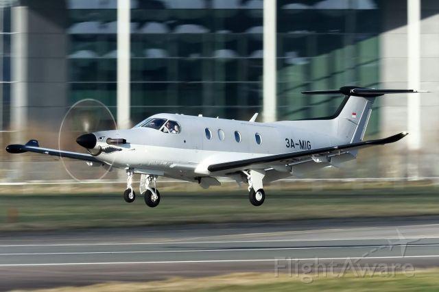 Pilatus PC-12 (3A-MIG)