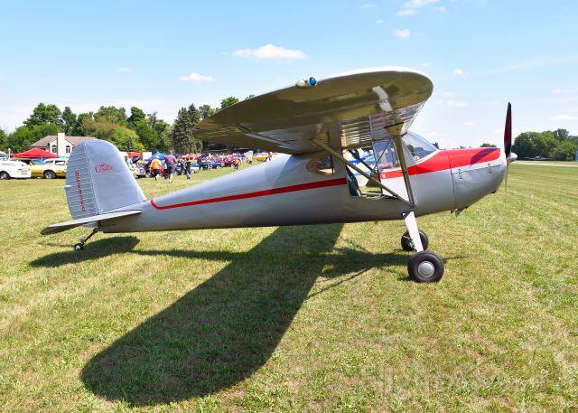 Cessna 140 (NC89360) - Cessna 140 NC89360 in Brighton, MI