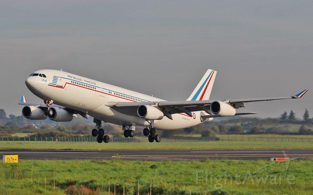 Airbus A340-200 (F-RAJB) - french air force a340-2 f-rajb training at shannon 14/10/15.