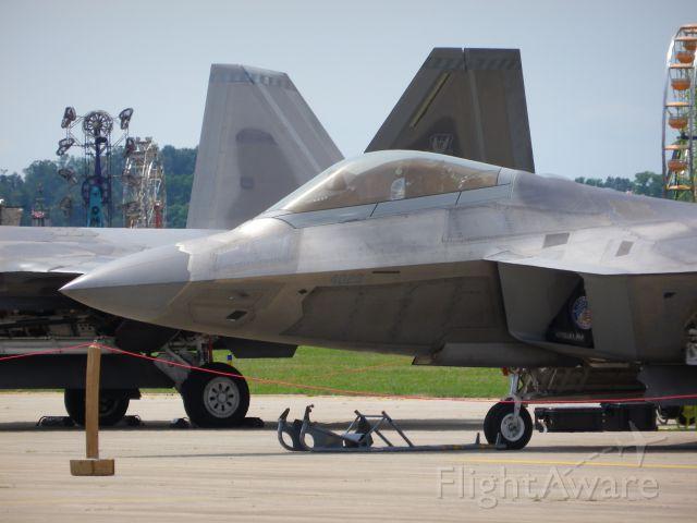 Lockheed F-22 Raptor — - F-22 Raptor Demo Team<br />BTL - 03 JUL 15