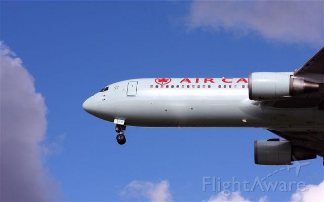 BOEING 767-300 (C-FTCA) - Air Canada Boeing 767-375ER 638 lands at YVR July 11, 2010