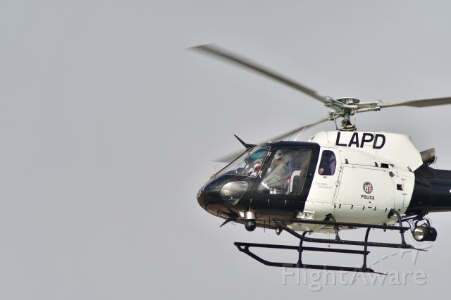 Eurocopter AS-350 AStar (N668PD) - Thought it was fun that the Right seat guy was dressed up as Capt. America!