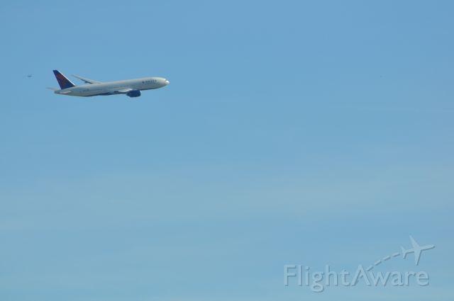 Boeing 777-200 — - Deltas 777-200LR heading off to Incheon