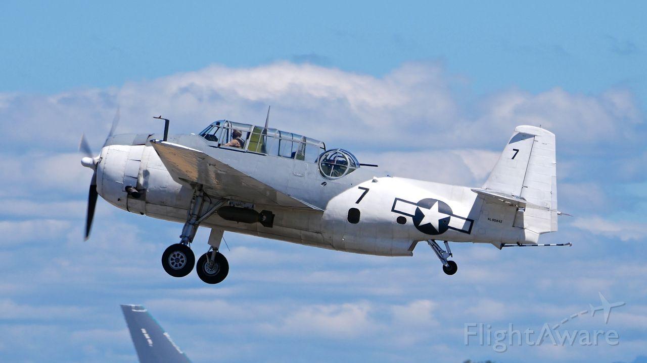 N9584Z — - Historic Flight Foundations Grumman TBM-3E Avenger (Ser #85882) at SkyFair 7.22.17.