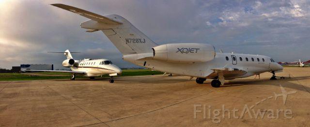 Cessna Citation X (N726XJ) - 3 Ciation 750s