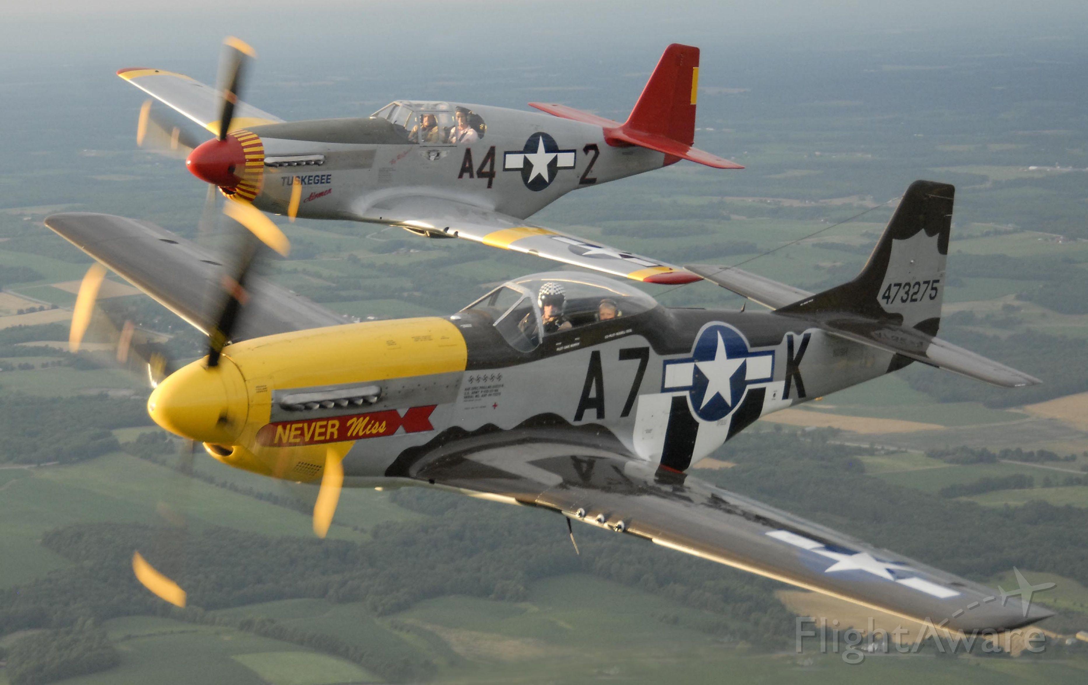 North American P-51 Mustang (N119H) - P-51D & B
