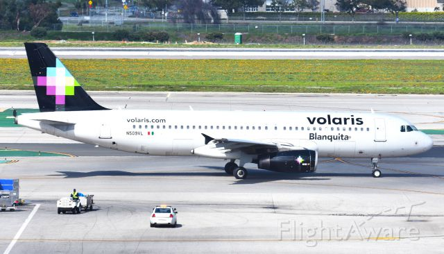 N509VL — - This picture was taken from the LAX Theme Building.
