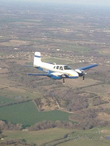Beechcraft Twin Bonanza (N58KS) - KSWI back to KADS