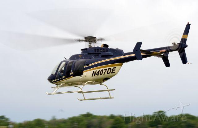 N407DE —