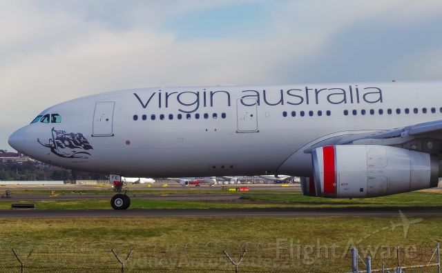 Airbus A330-200 (VH-XFE) - Virgin Australia (VH-XFE) Airbus A330-242 Taxiing To RWY 34L For A Departure For Perth