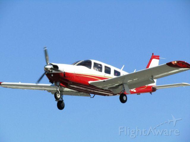 Piper Saratoga/Lance (N8535E) - Landing RWY 24
