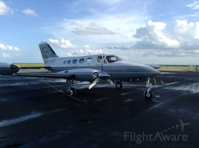 Cessna Chancellor (N777RP) - Ramp Glades Airport