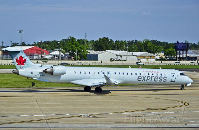 Canadair Regional Jet CRJ-900 (C-FCJZ) - C-FCJZ Air Canada Express (Jazz Air) Canadair CL-600-2D15 Regional Jet CRJ-705ER / 703 (cn 15040)<br /><br />Louis Armstrong New Orleans International Airport (IATA: MSY, ICAO: KMSY, FAA LID: MSY)<br />TDelCoro<br />May 12, 2013