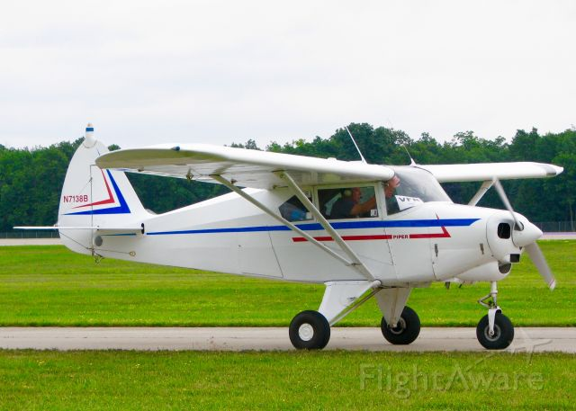 Piper PA-22 Tri-Pacer (N7138B) - At Oshkosh. 1956 Piper PA-22-150