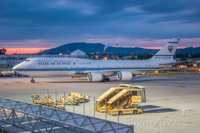BOEING 747-8 (9K-GAA)