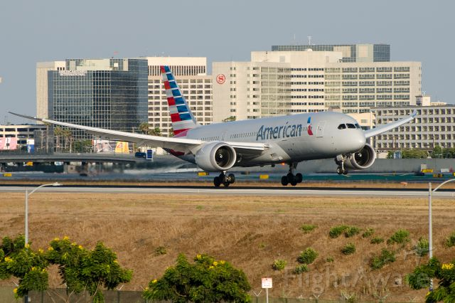 N804AN — - Taking advantage of the late afternoon summer sun on the north side of LAX.