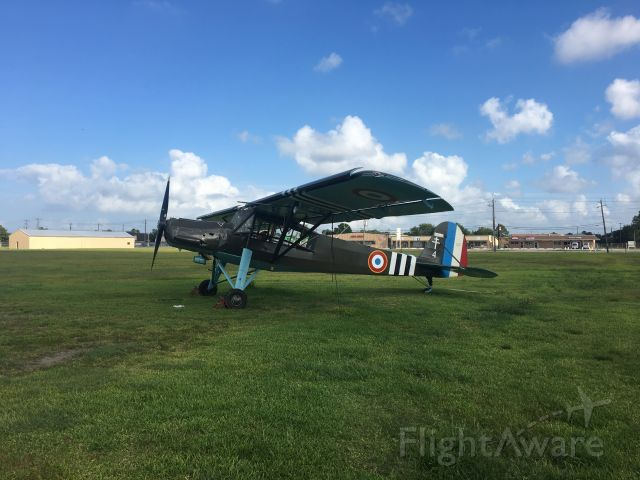 FIESELER Storch (N778MS) - Morane-Saulnier MS.500 (Fieseler Fi 156 Storch) after restoration and ready to fly again.