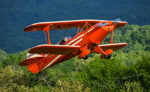N200FC — - Private Steen Skybolt doing a steep climb after departure in Seymour Tennessee.
