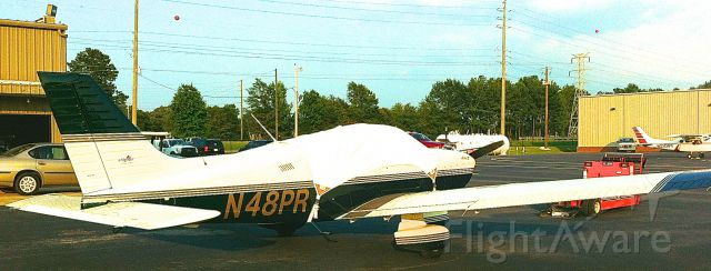 Piper Cherokee (N48PR) - At Shelby County for a night. KEET.