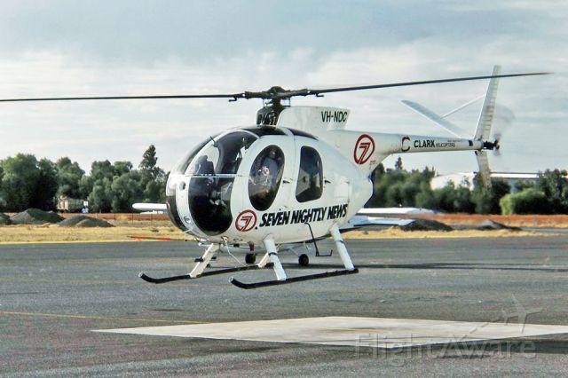 Cessna Caravan (VH-NDC) - CLARK HELICOPTERS - HUGHES 500C (369HS) - REG : VH-NDC (CN 46/0811S) - PARAFIELD ADELAIDE SA. AUSTRALIA -YPPF (10/4/1993)