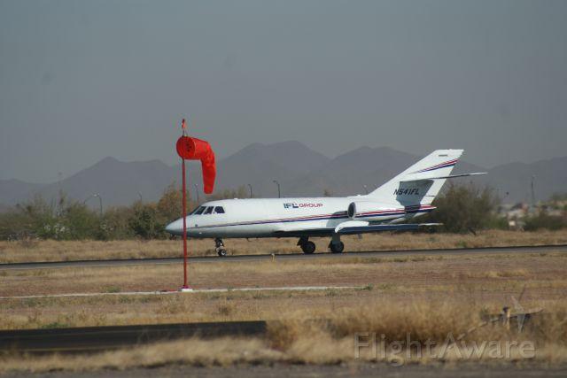 Dassault Falcon 20 (N541FL) - DEPARTURE TO EL PASO TX