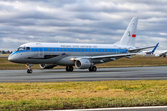 Embraer ERJ 175 (SP-LIM) -  Embraer ERJ-175LR SP-LIM LOT - Polish Airlines (Retro Livery)
