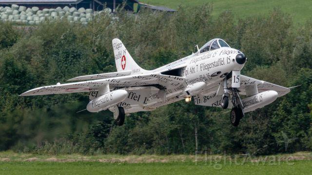 Hawker Hunter (HB-RVS)