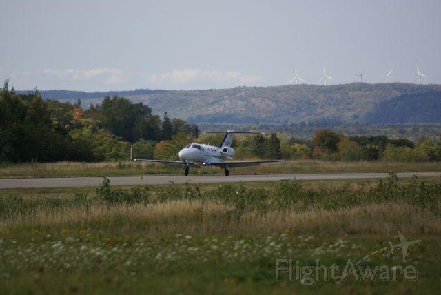 Cessna Citation Mustang (N968CM) - Cessna Mustang Landing KANJ Sault Ste Marie, MI