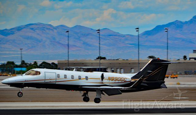Learjet 31 (N990GC) - N990GC 1993 LEARJET  31 s/n 033A - Las Vegas - McCarran International (LAS / KLAS)<br />USA - Nevada, April 29, 2016<br />Photo: Tomás Del Coro