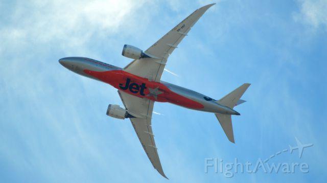 Boeing Dreamliner (Srs.8) (VH-VKF) - Off to Bali departing RWY32