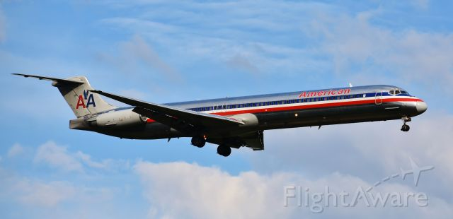 McDonnell Douglas MD-83 (N984TW) - Here she is in her glory - the last MD-80 ever built.  I had the privilege of flying on this bird back in 2017.  Fitting that I should see her on the day of the announcements of the last Mad Dog flights at American.  Long live the Mad Dog.  From 6/25/19.