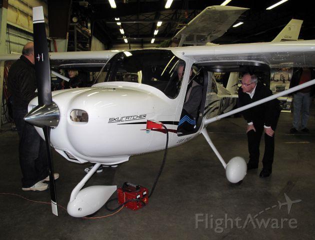 Cessna Skycatcher (N5201K) - Presentation of the new Skycatcher at LEGGAT AVIATION.