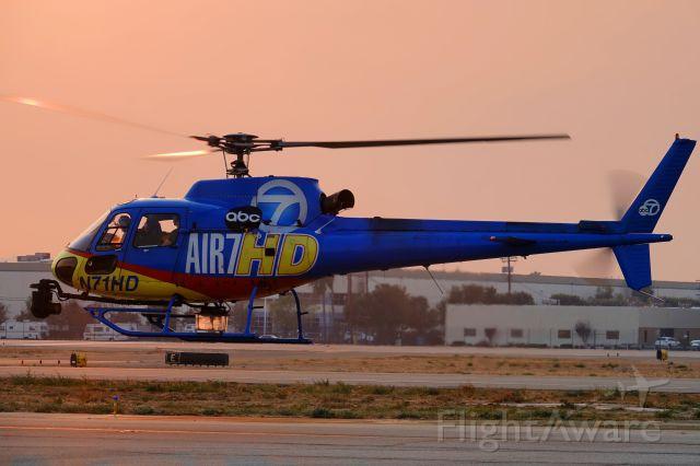 Eurocopter AS-350 AStar (N71HD)