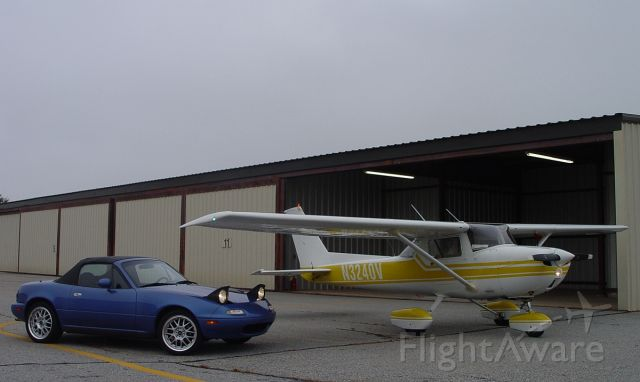 Cessna Commuter (N3240V) - 1974 Cessna 150M IFR with 1994 MX-5 Roadster.