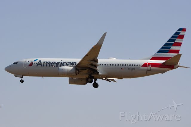 Boeing 737-700 (N344PP) - AA on short final for 29R from Chicago