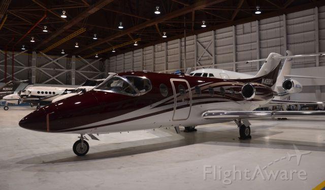 Beechcraft Beechjet (N488KL) - N488KL seen in a hangar at CLE. Please look for more photos at OPShots.net