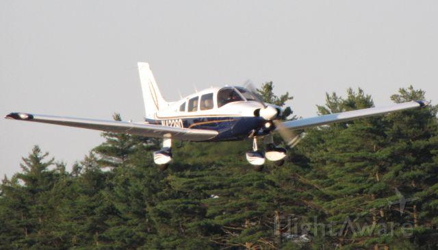 Piper Dakota / Pathfinder (N43380) - Departing Runway 24 at PYM