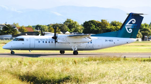 de Havilland Dash 8-300 (ZK-NED)
